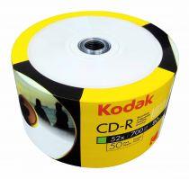 KODAK CD-R 52x 700MB 50-Value Pack Printable