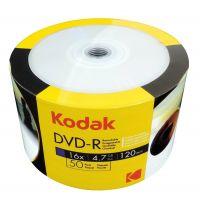 KODAK DVD-R 16x 4.7GB 50-Value Pack Printable