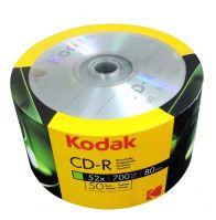 KODAK CD-R 52x 700MB 50-Value Pack