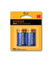 Kodak C battery max super alkaline pack of 2