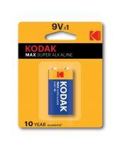 Kodak MAX 9V Batteries Alkaline