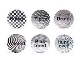Kikkerland DRUNK 3D-COASTERS