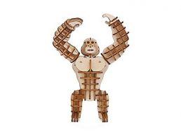 Kikkerland Gorilla 3d wooden puzzle
