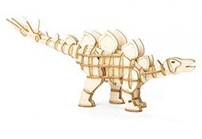 Kikkerland stegosaurus 3d wooden puzzle