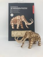 Kikkerland Mammoth 3d wooden puzzle