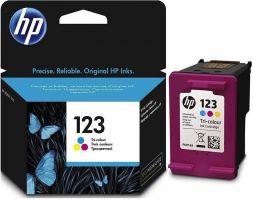 HP 123 Tri-color Original Ink Cartridge [F6V16AE]