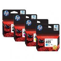 HP 655 Cyan Ink