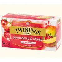 Twinings strawberry and mango tea 20 bags