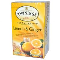 Twinings lemon and ginger tea 20 bags